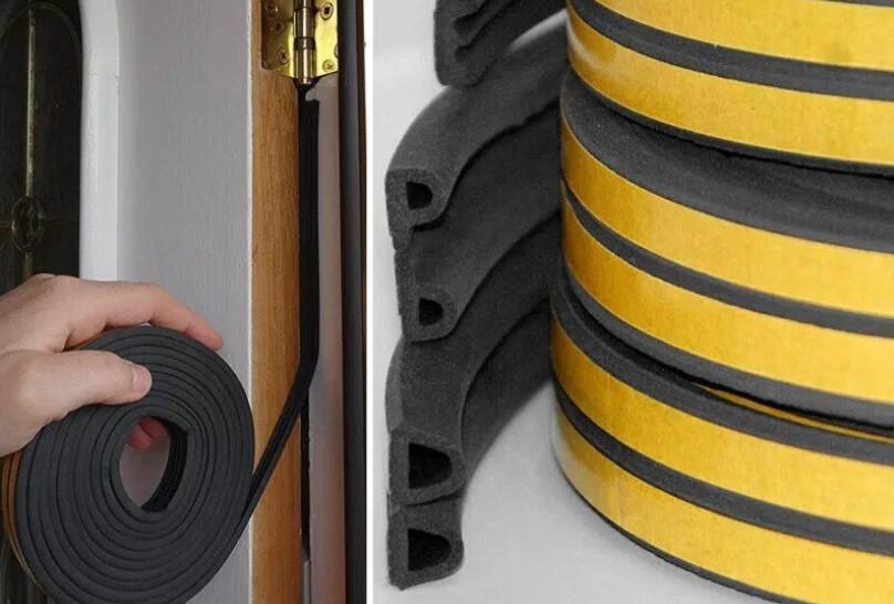 Резиновые прокладки для дверей