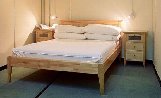 Сосновая кровать